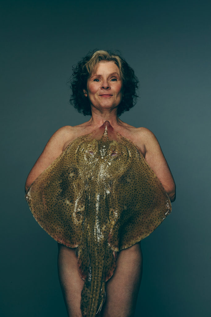 Fish Love: Imelda Staunton with Blonde Ray