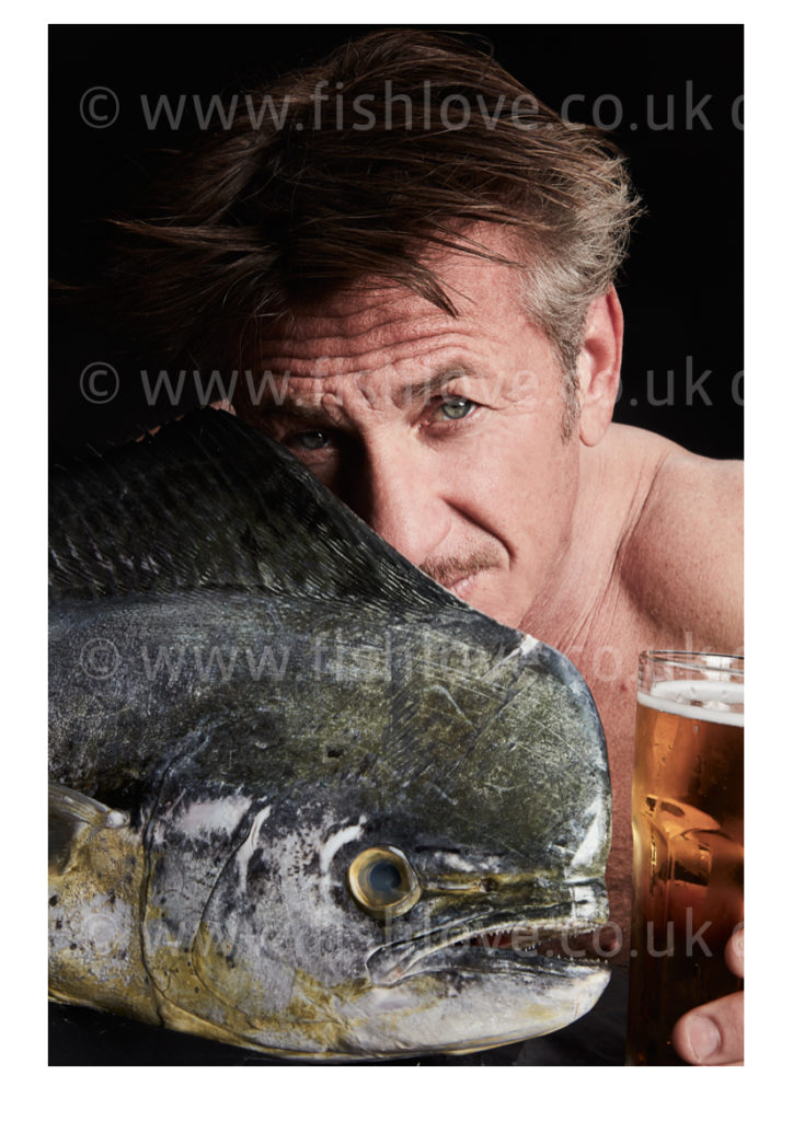 Celebrities and actors pose with fish in a courageous call on EU governments for bold action to #EndOverfishing in Europe's waters by 2020. © Fishlove/Alan Gelati.