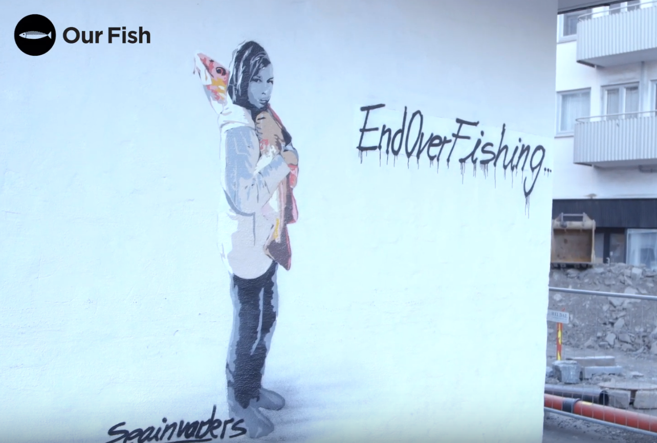 End Overfishing Mural, Bergen
