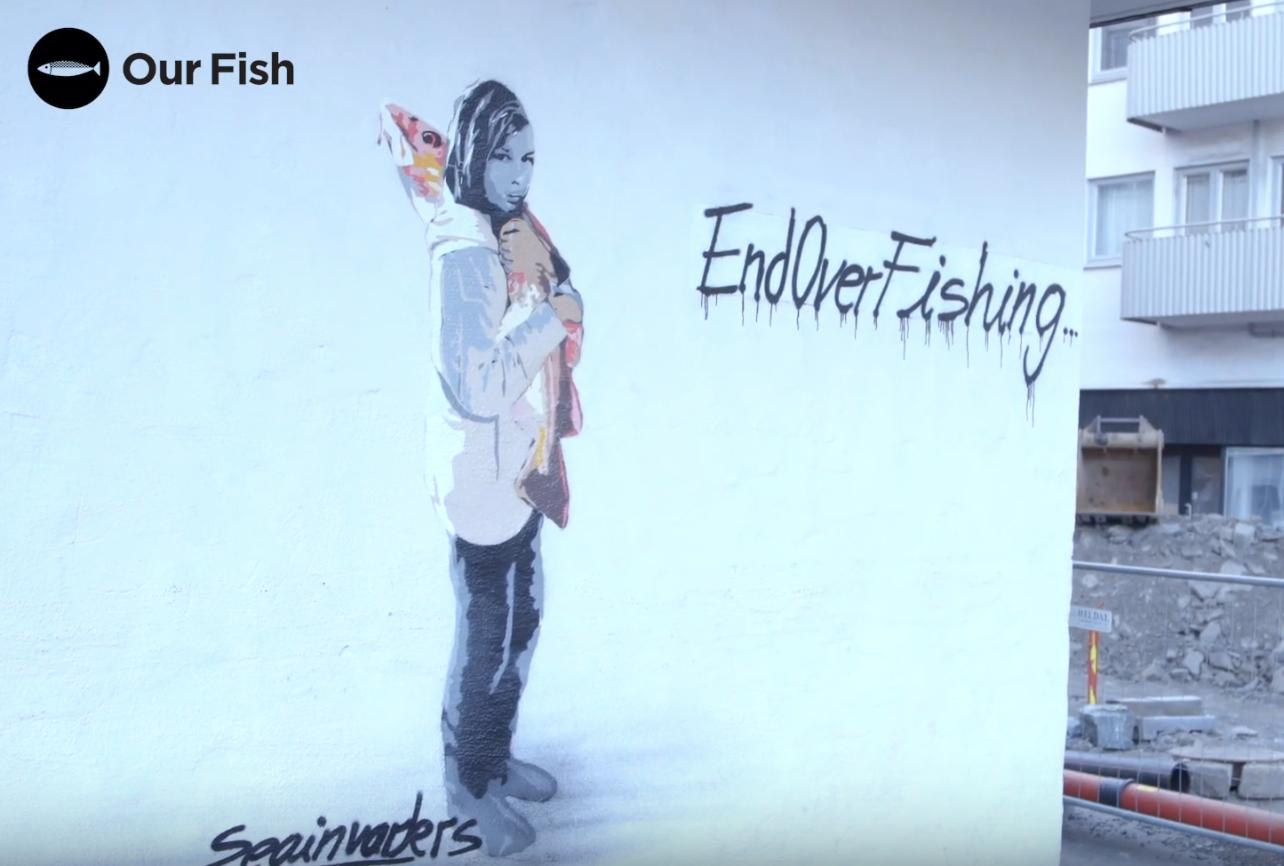 End Overfishing Mural, Bergen