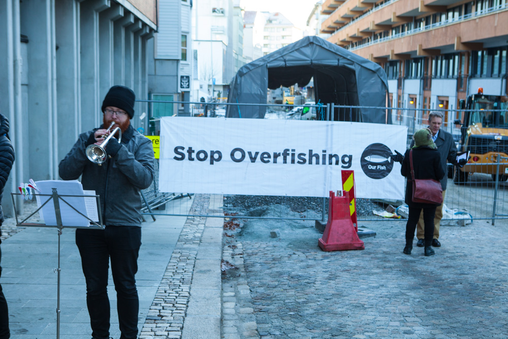 Our Fish Demands end to EU overfishing in Bergen