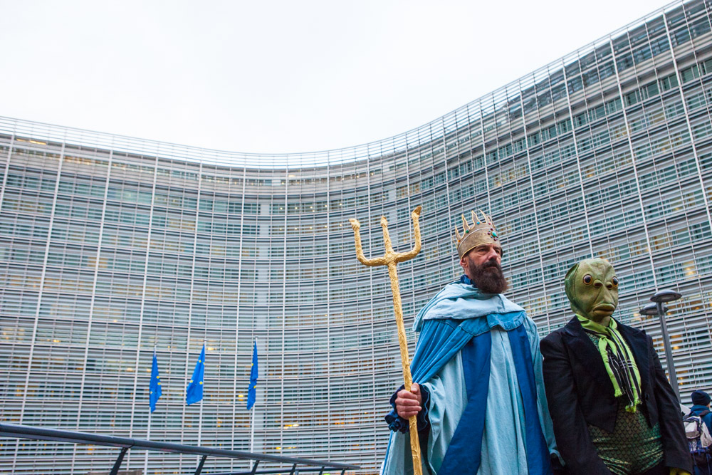 Poseidon meets EU fisheries officials in Brussels