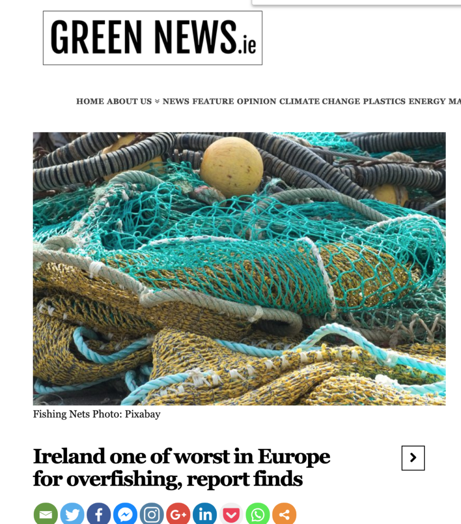 Ireland one of worst in Europe for overfishing, report finds