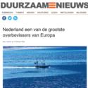 """""""Nederland een van de grootste overbevissers van Europa """""""