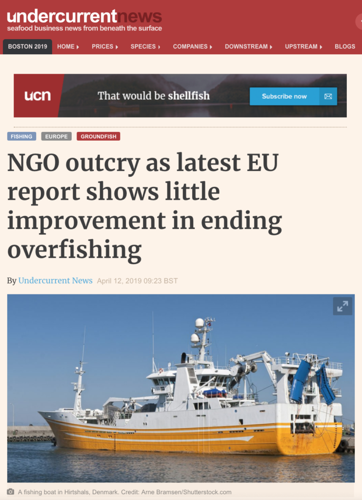 NGO outcry as latest EU report shows little improvement in ending overfishing