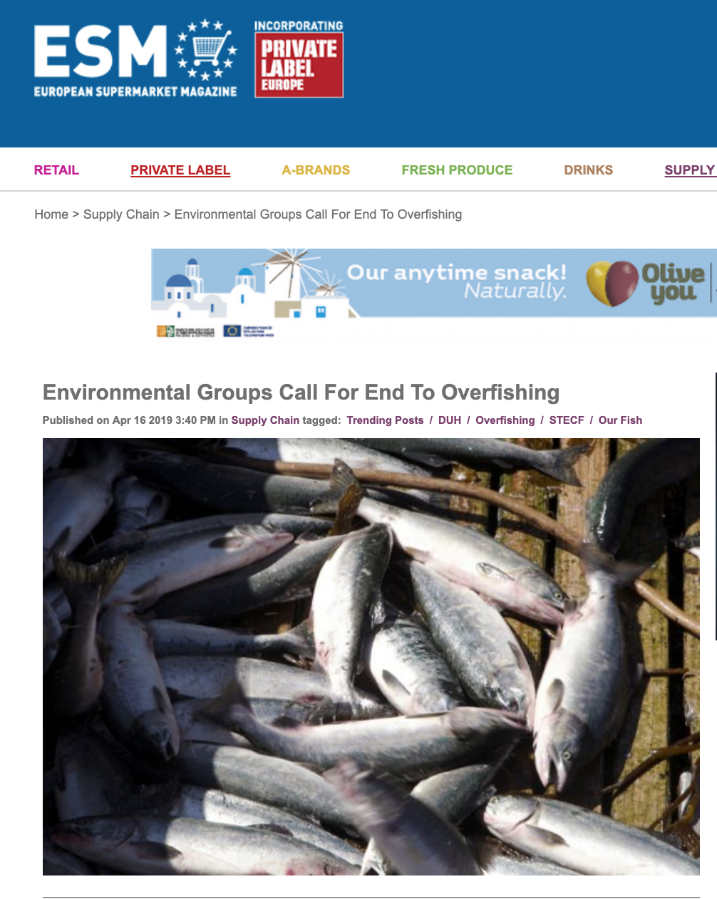 Environmental Groups Call For End To Overfishing