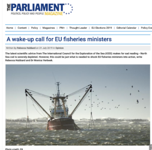 A wake-up call for EU fisheries ministers