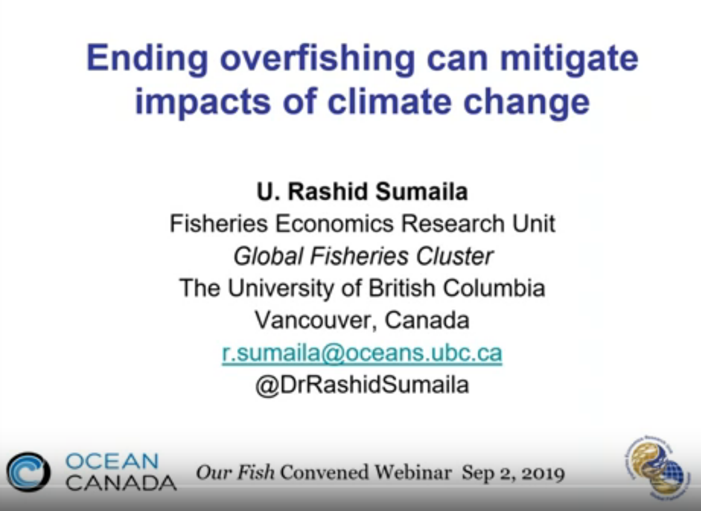 Ending Overfishing Is Opportunity to Combat Climate Crisis
