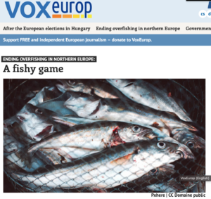 VoxEurope: Ending Overfishing in Northern Europe: A fishy game