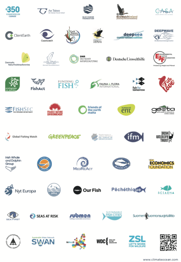Over 50 NGOs Call on EU Leaders to Protect Ocean as Climate Action