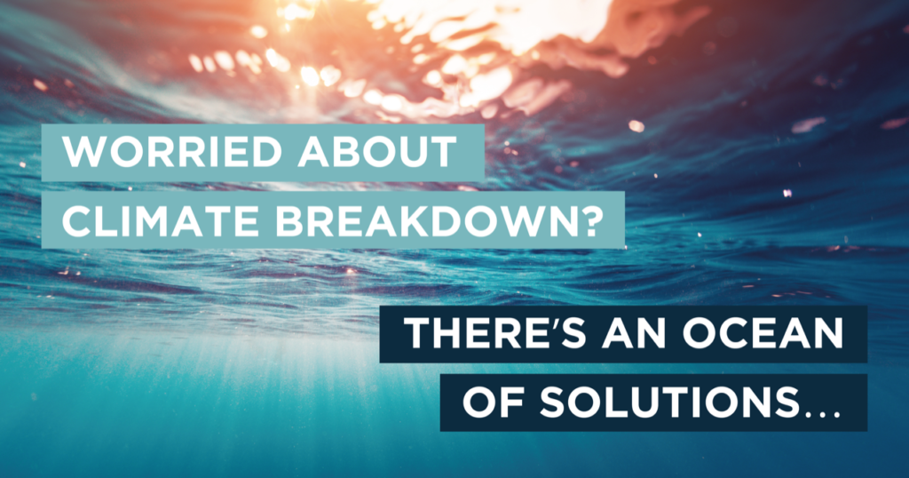 The scale of the pressure on the ocean is matched only by the opportunities for leadership in restoring the planet's greatest source of life.