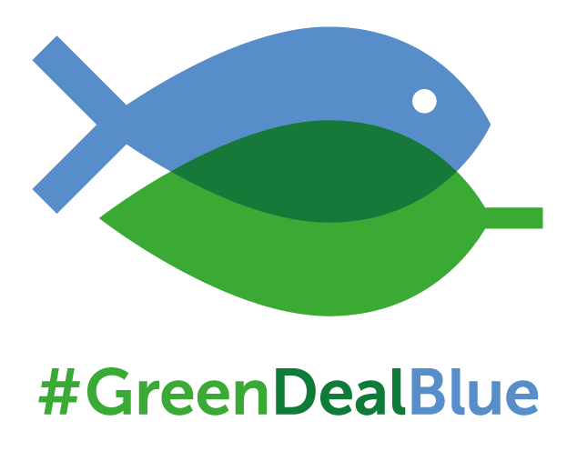 Make the #GreenDeal Blue logo