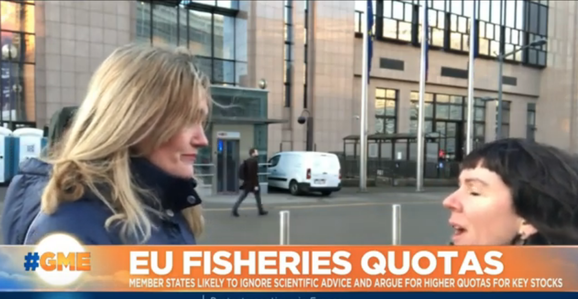 Rebecca Hubbard on Euronews