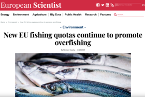 New EU fishing quotas continue to promote overfishing