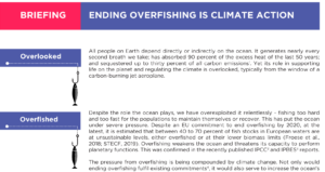 Briefing: Ending overfishing is climate action
