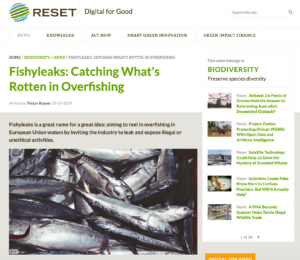 Fishyleaks: Catching What's Rotten in Overfishing