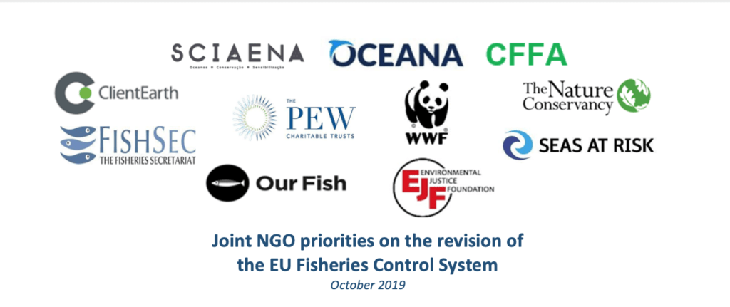 Joint NGO priorities on the revision of the EU Fisheries Control System
