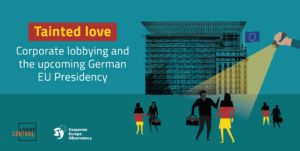 Tainted love: Corporate lobbying and the upcoming German EU Presidency