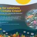 Fishing for Solutions to the Climate Crisis?