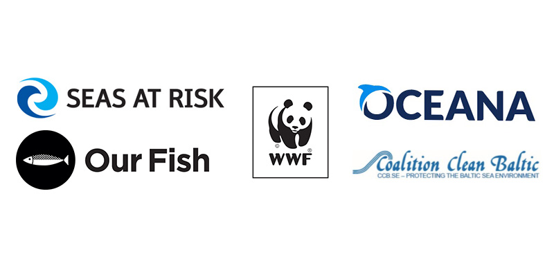 Seas at Risk, Our Fish, WWF, Oceana, Coalition Clean Baltic