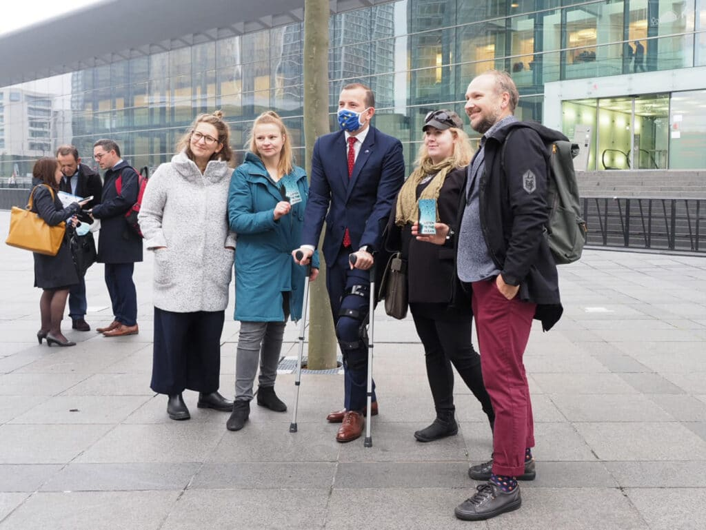 fisheries ministers are gathering to set fishing limits for Baltic Sea fish populations for 2022. EU Commissioner for the Environment Virginijus Sinkevičius attended the performance.